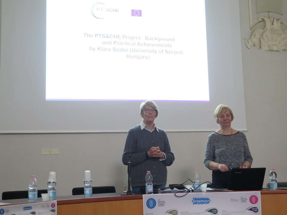 Project dissemination event in Italy