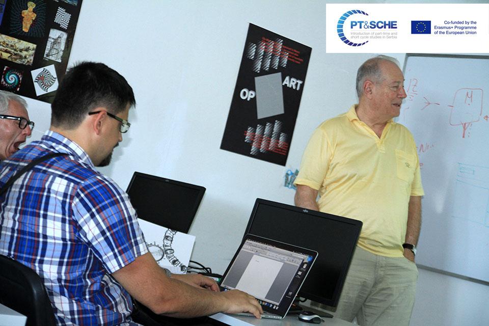 Presentation BMU eLearning platform