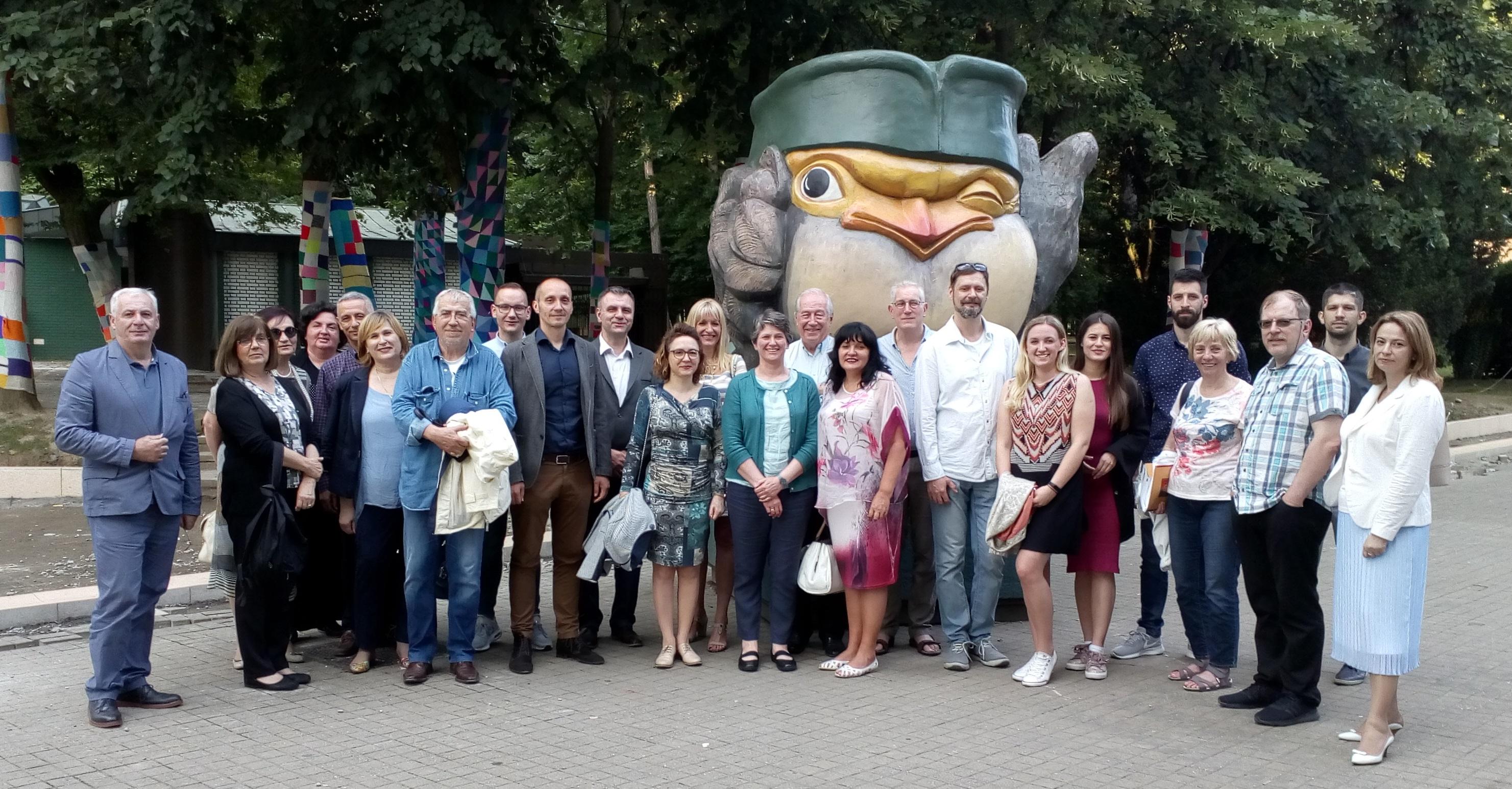 4th Consortium Meeting organized by the Universety of Kragujevac, Vrnjačka Banja